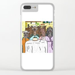 The Goaten Girls Clear iPhone Case