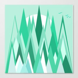 The Frozen Forest Canvas Print