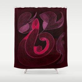 Harmonia - Love Shower Curtain