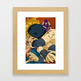 Derby Girls 05 Framed Art Print