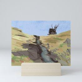 The castle Mini Art Print