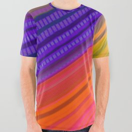Color Wave ~000~ All Over Graphic Tee
