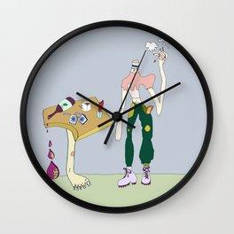 Lost ye Head m'Dear? Wall Clock