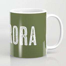 Deer: Aurora, Colorado Coffee Mug