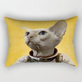 Proud astronaut Rectangular Pillow