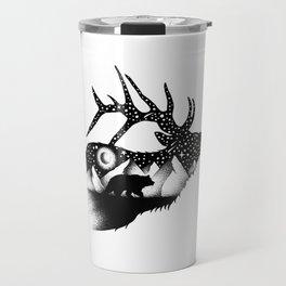 THE ELK AND THE BEAR Travel Mug