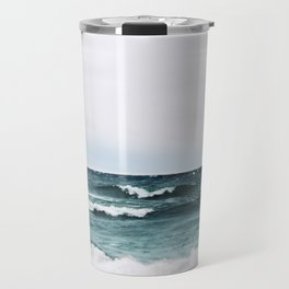 Turquoise Sea #3 Travel Mug