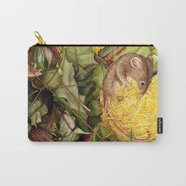 Honey Possum in Dryandra Carry-All Pouch