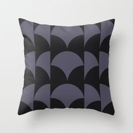 Cleo Pattern - Midnight Throw Pillow