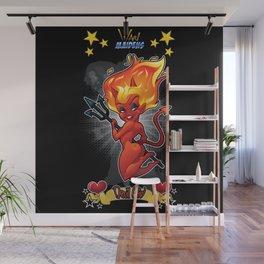 War Maiden - Devil Girl Wall Mural