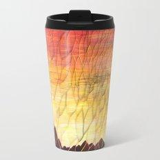 Desert Sunset Pattern Travel Mug