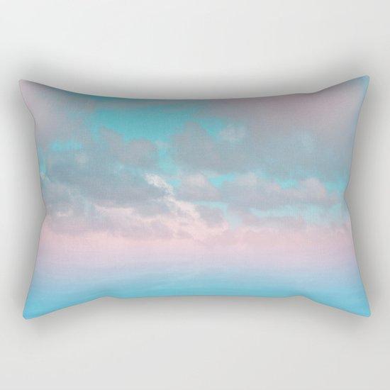 The Sea is Calm 03 Rectangular Pillow