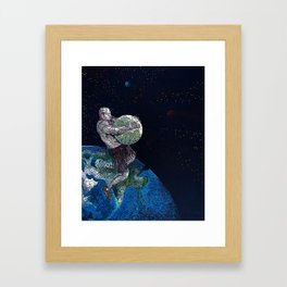 Allegiant Remix Framed Art Print