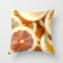 Citruses Throw Pillow