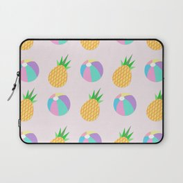 Beach Balls & Pineapples Laptop Sleeve