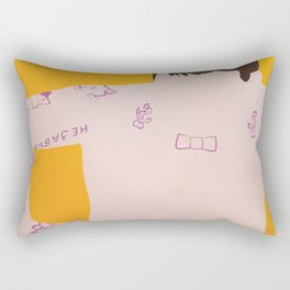 GENTLEMEN OF FORTUNE Rectangular Pillow