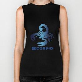 scorpio t-shirts Biker Tank