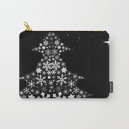 Snowflake Christmas Tree Carry-All Pouch