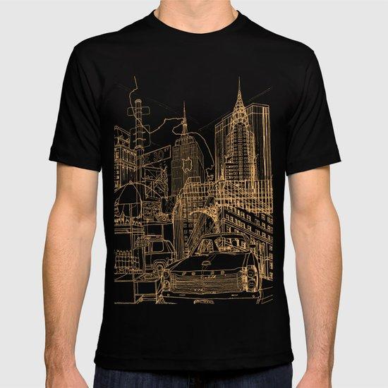 New York! Night by davidbushell
