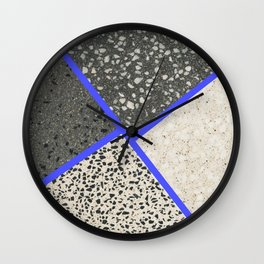 Happy Concrete Nr.:02 Wall Clock