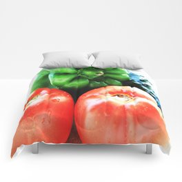 Colors of vegetables Comforters