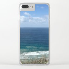 Million Dollar View Clear iPhone Case
