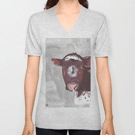 A Cow Named Frosty Unisex V-Neck