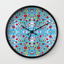 Cosmonopolis Wall Clock