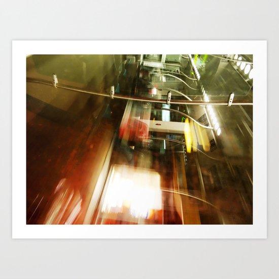 Urban Reflections 26 Art Print
