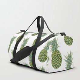 Watercolor pineapple print Duffle Bag