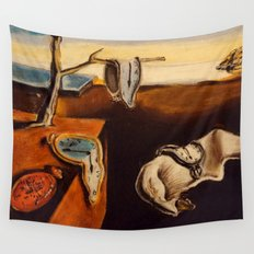 Salvador Dali - The Persistence of Memory Wall Tapestry