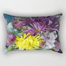 Mixed Flower 2 Rectangular Pillow