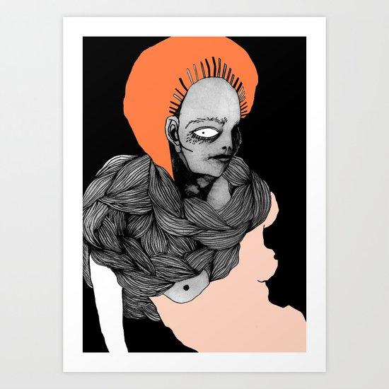 The position Art Print