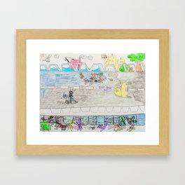 Kelly Bruneau #11 Framed Art Print