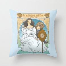 Labyrinthe Throw Pillow