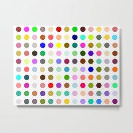Magic dots Metal Print