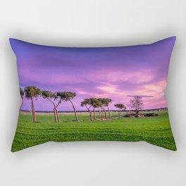 Violet sunset Rectangular Pillow