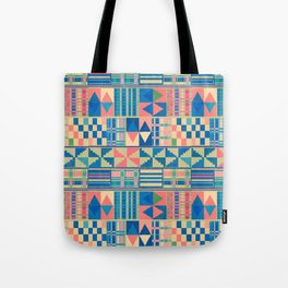 Kente Inspired 2 Tote Bag