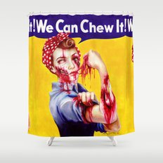 We Can Chew It! Shower Curtain