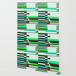 Geometric design - Bauhaus inspired Wallpaper