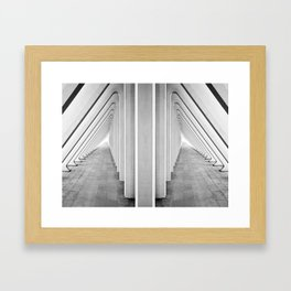 Endless Symmetry Framed Art Print