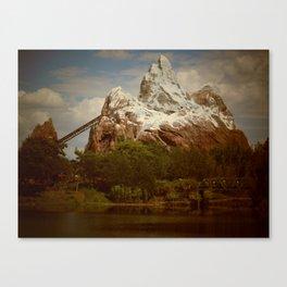 Disney's Animal Kingdom Everest 2 Canvas Print