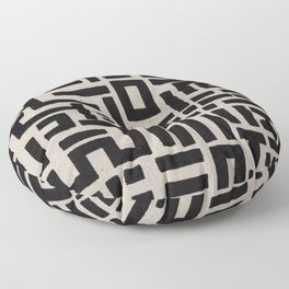 Trip Hop In The City Floor Pillow