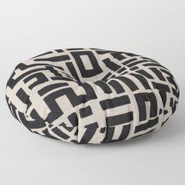 Trip Hop In The City Floor Pillow