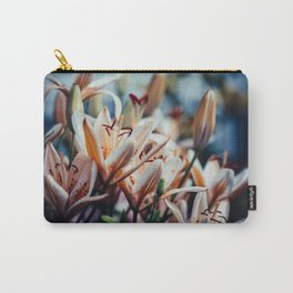 Lilies in Shadow, from my floral photography collection Carry-All Pouch
