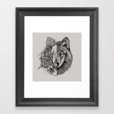 New Wolf (Half Life) Framed Art Print