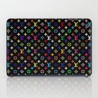 targaryen iPad Cases featuring COLORFULL LV PATTERN LOGO by BeautyArtGalery