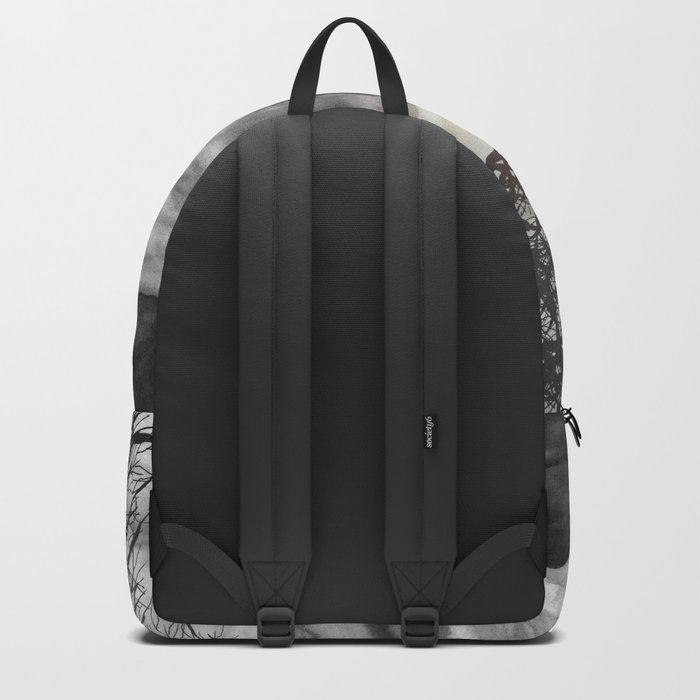 Grateful Love Song B&W Backpack