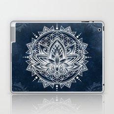 Lotus Mandala (white) Laptop & iPad Skin