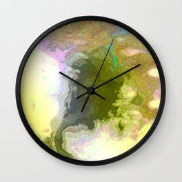 Seismic Waterway Wall Clock